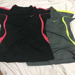 Nike shirts — GET THESE 2 for 120 PHP