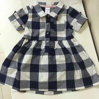 Carter's checker dress