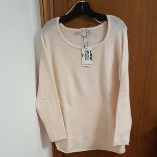 Light Pink Soft Sweater