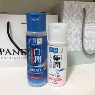肌研化妝水+乳液