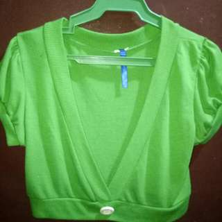 Pre Loved Bolero Top