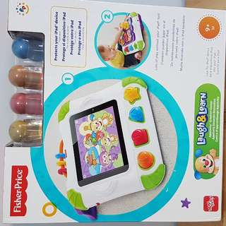 Priced To SELL! Fisher Price -New Ipad Case - Apptivity Laugh And LEARN for 9M+