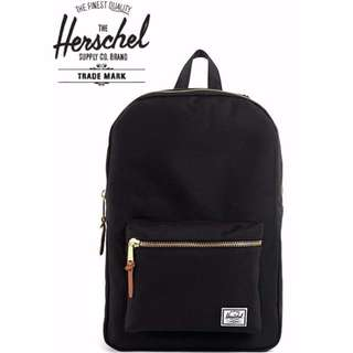 [SG53 SALE]✔Herschel Settlement Backpack (Black)