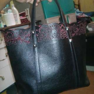 Black bag for office
