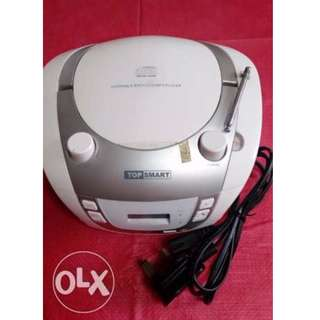 2 in 1 DVD player and Portable Radio CD MP3