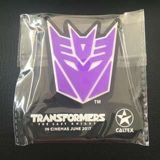 Transformer Fridge Magnet (from Caltex)