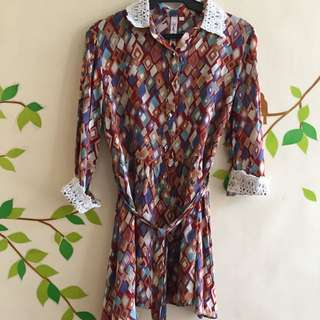 Prints And Laces Dress