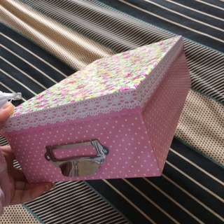 Colourful Floral Storage Box