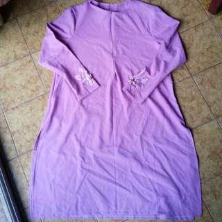 Soft purple tunic/blouse