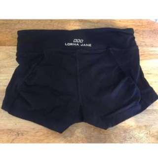 Black Lorna Jane Shorts Size 8