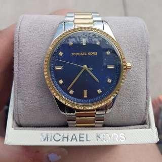 Michael Kors Blake Two Tone Watch