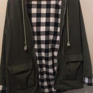 Luck & Trouble Parka Size 8