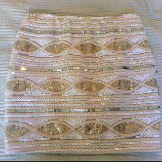 Blonde Skirt From Dissh