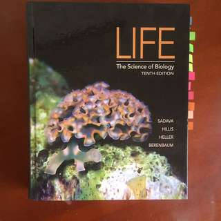 LIFE The Science Of Biology Textbook