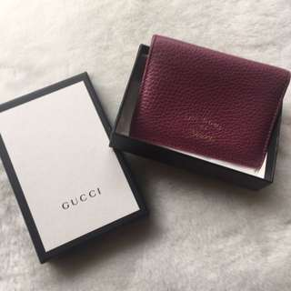 GUCCI WALLET CARD HOLDER