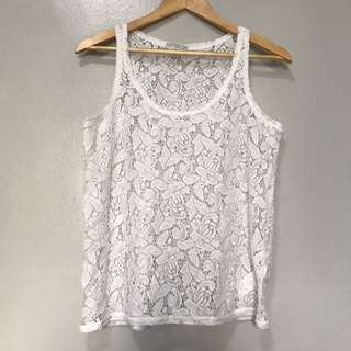 Cotton On Lace Tank Top