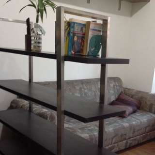 REPRICED! Sturdy 4-layer bookshelves divider FREE delivery