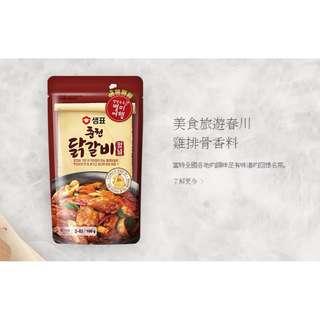 現貨 sempio 春川辣炒雞排醬 180g 3~4人份