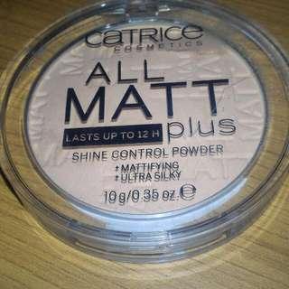 Catrice All Matt shine control powder shade Transparent