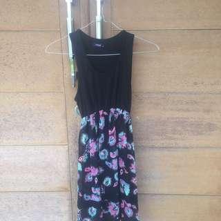 MINIMAL DRESS FLOWER
