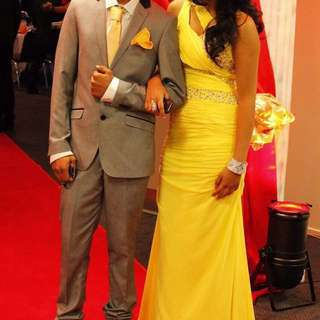 Yellow Ball Dress