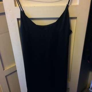 Glassons Black Slip Dress