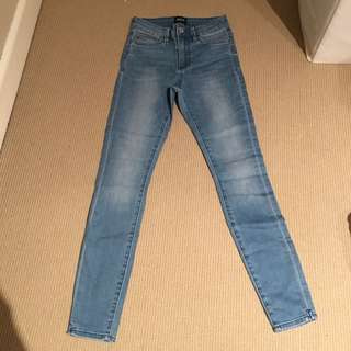 Riders Skinny Jeans Size 6