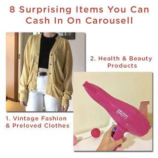 8 Surprising Items At Home You Can Cash In For Cash!