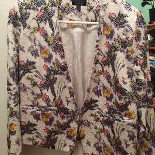 Top Shop Floral Jacket