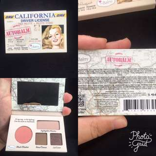 The Balm Face Palette