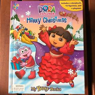 Dora The Explorer Merry Christmas - My Busy Books