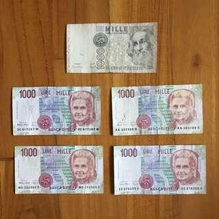 Old Italian Lira
