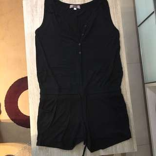 Play Suit With Waist String Size Small