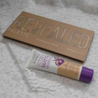 Revealed Palette + Rimmel Stay Matte Foundation