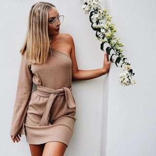 Sabo Skirt One Shoulder Dress