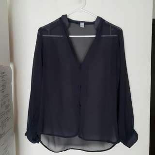 Unbranded Long Sleeve Polo Top