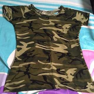 Tshirt Camouflage