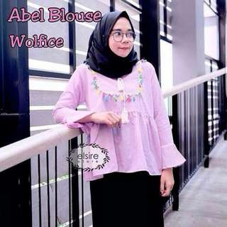 Hijab Abel Blouse By Elsire