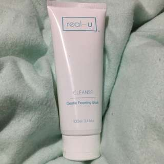 Real-u Gentle Foaming Wash