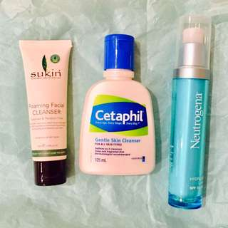 3 Products For Skincare
