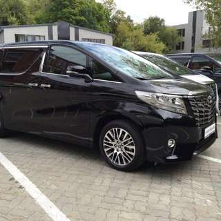 EXCLUSIVE AND EXECUTIVE LUXURY Airport TRANSFERS And PTP Transfers ( PROFESSIONAL CHAUFFEURS )   @S$35  Brand NEW Toyota Alphard 2.5L