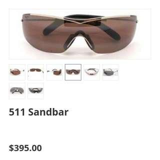 Maui Jim Sunglasses (Dis-Continued style) Sandbar, Burgundy-Maui Rose