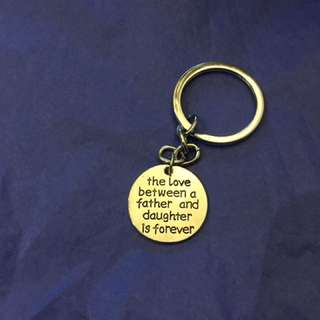Fathers Day Key Chain