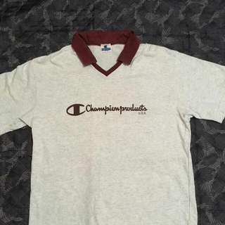 Champion V Neck Collar Pit-22 Labuh-29
