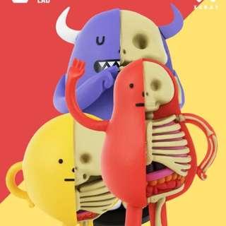Sticky Monster Lab 黏黏怪物研究所 解剖系列