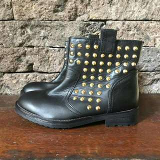 Kenjie Genuine Leather Boots