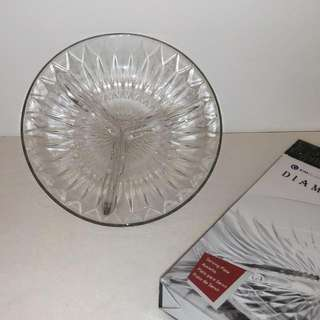 Brand New - Crystal Serving Tray
