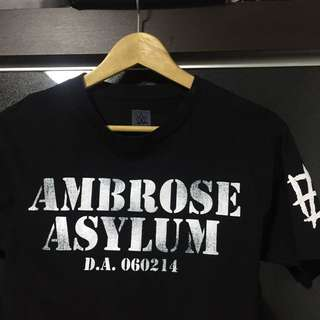 "WWE Authentic Dean Ambrose ""Ambrose Asylum"" T-Shirt"