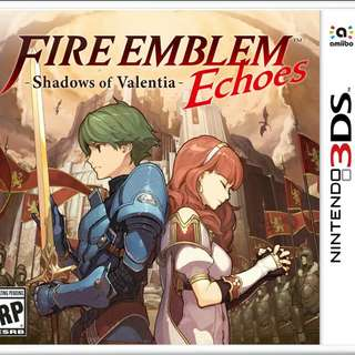 Reserved (3DS Game) Fire Emblem Echoes