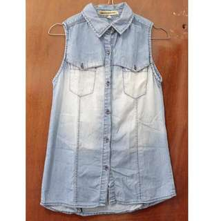 Denim Light Blue Shirt